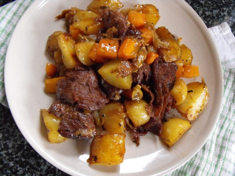 Mock Duck one skillet roast – In Vegetables We Trust