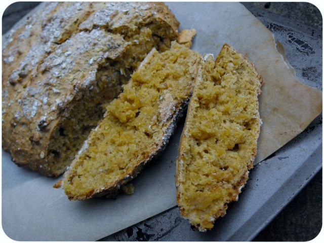 carrot and oat bread