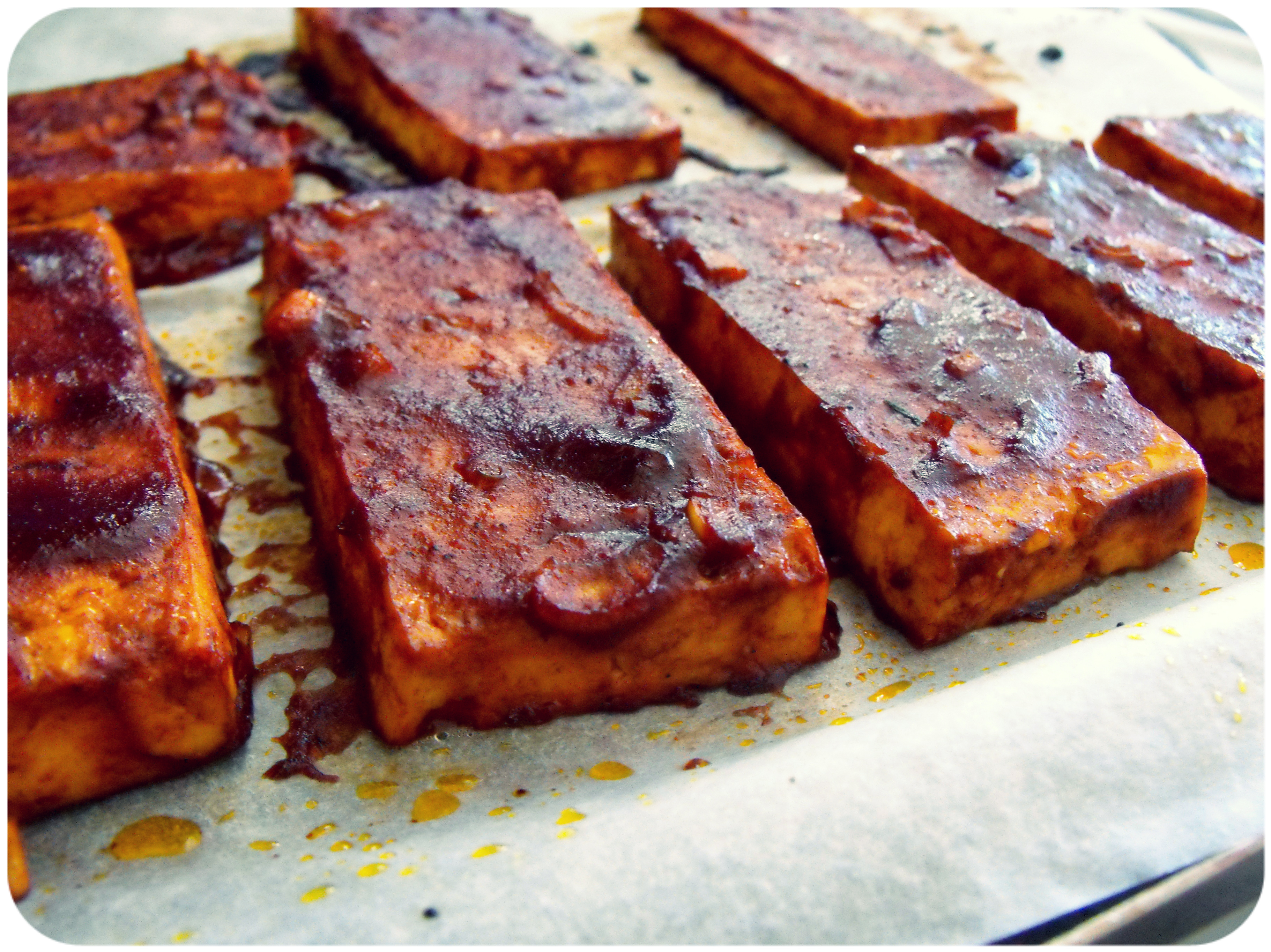 "Barbecued"" Tofu Recipes — Dishmaps"