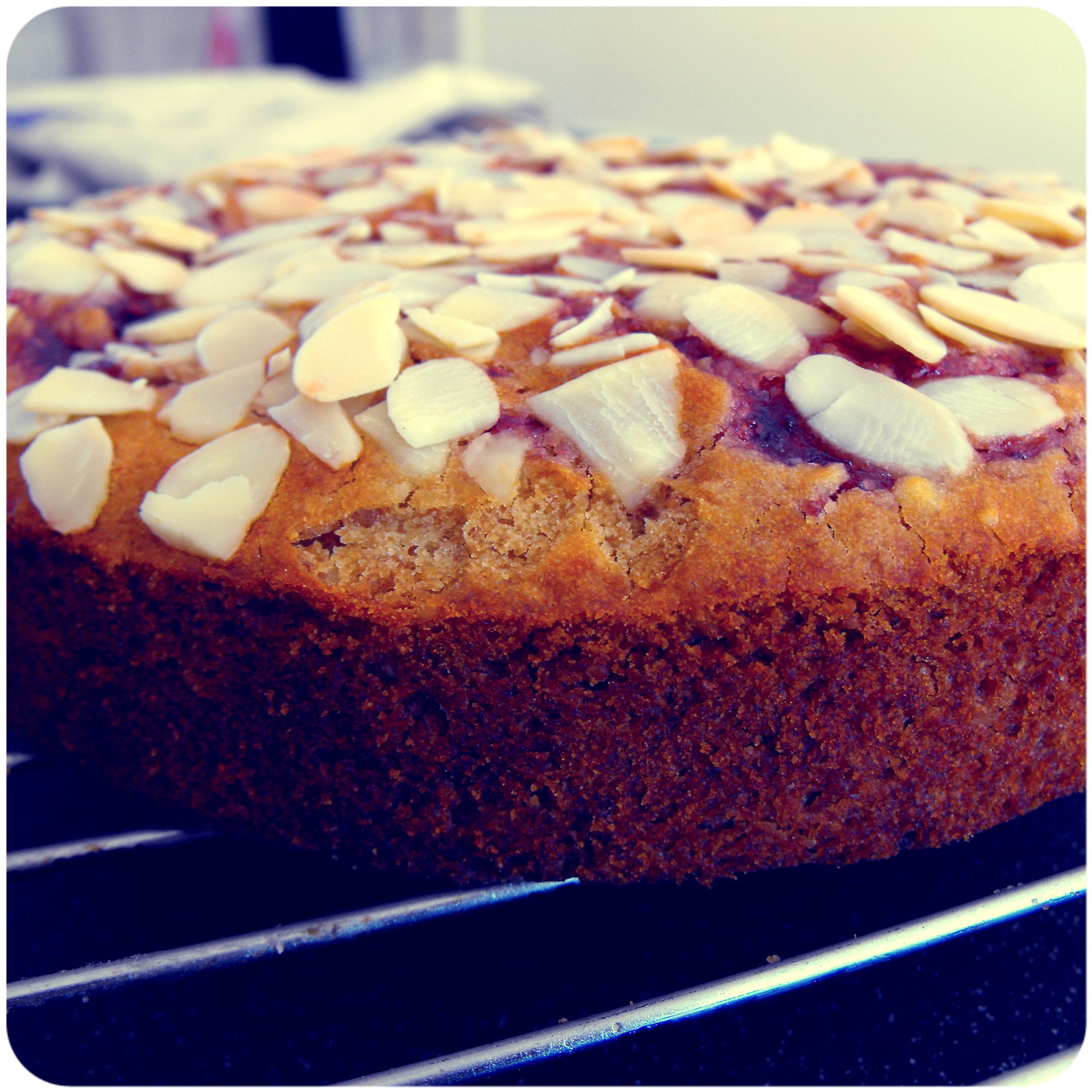 Jam Coffee Cake Vegan
