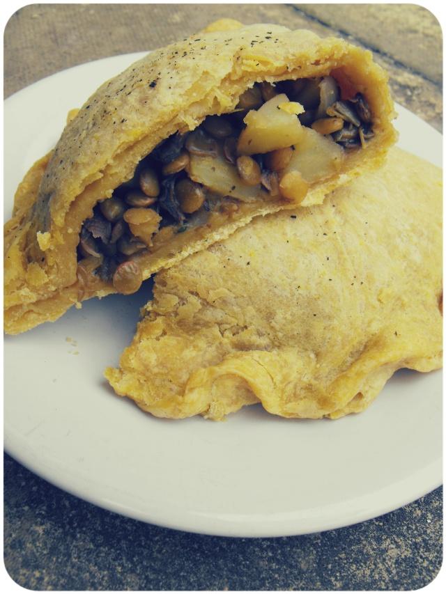 porcini lentil pastie thyme recipe vegan