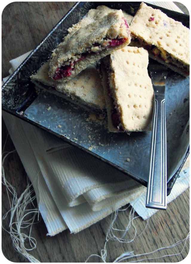 raspberry stuffed shortbread recipe
