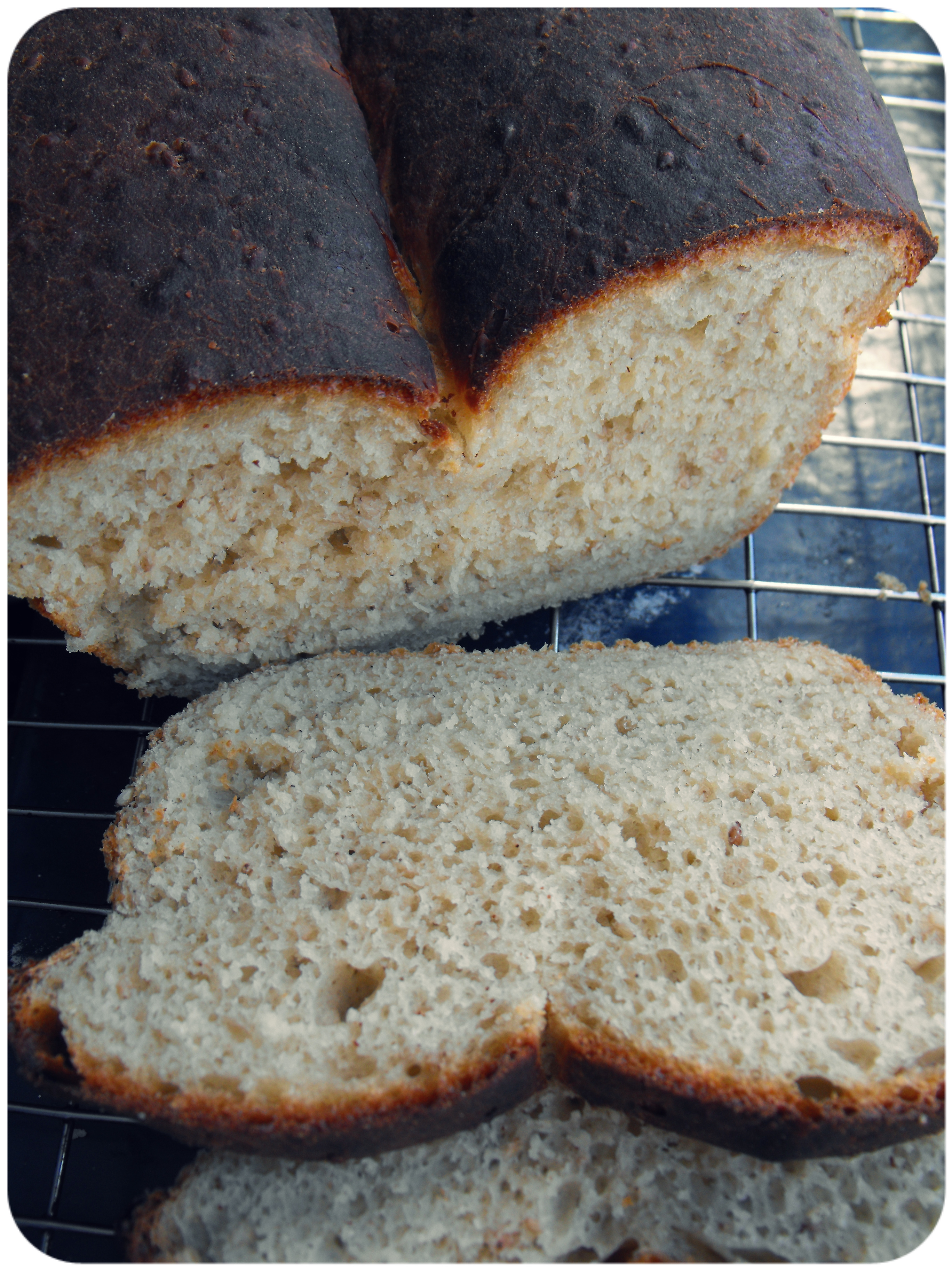 Flavourful sesame bread. | In Vegetables We Trust