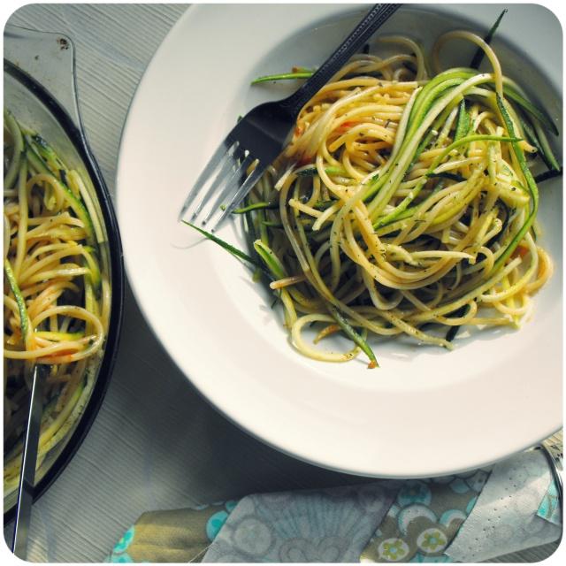 Spaghetti Aglio, Olio, e Peperoncino 1