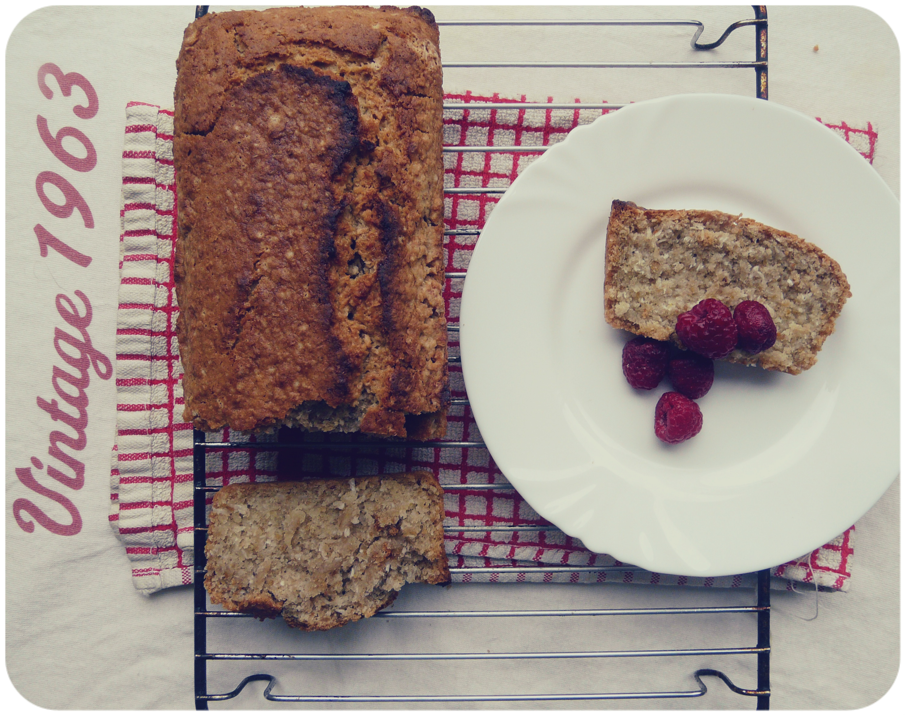 Gluten-free, soy-free coconut pound cake! | In Vegetables We Trust