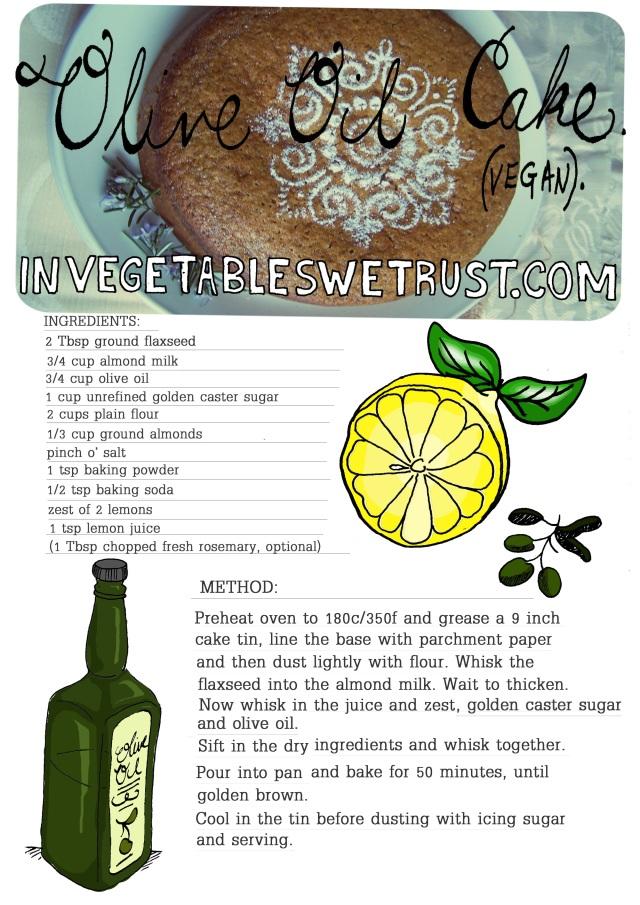 olive oil cake recipe 2