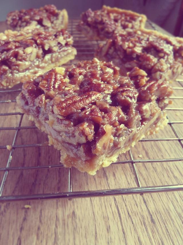 maple pecan bars 1