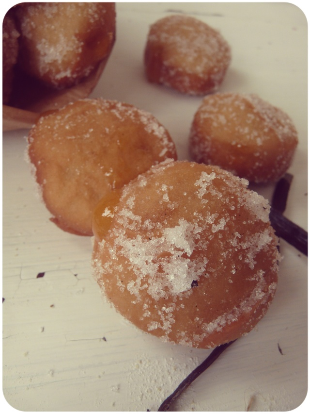 apricot filled vanilla frosted vegan doughnuts 2