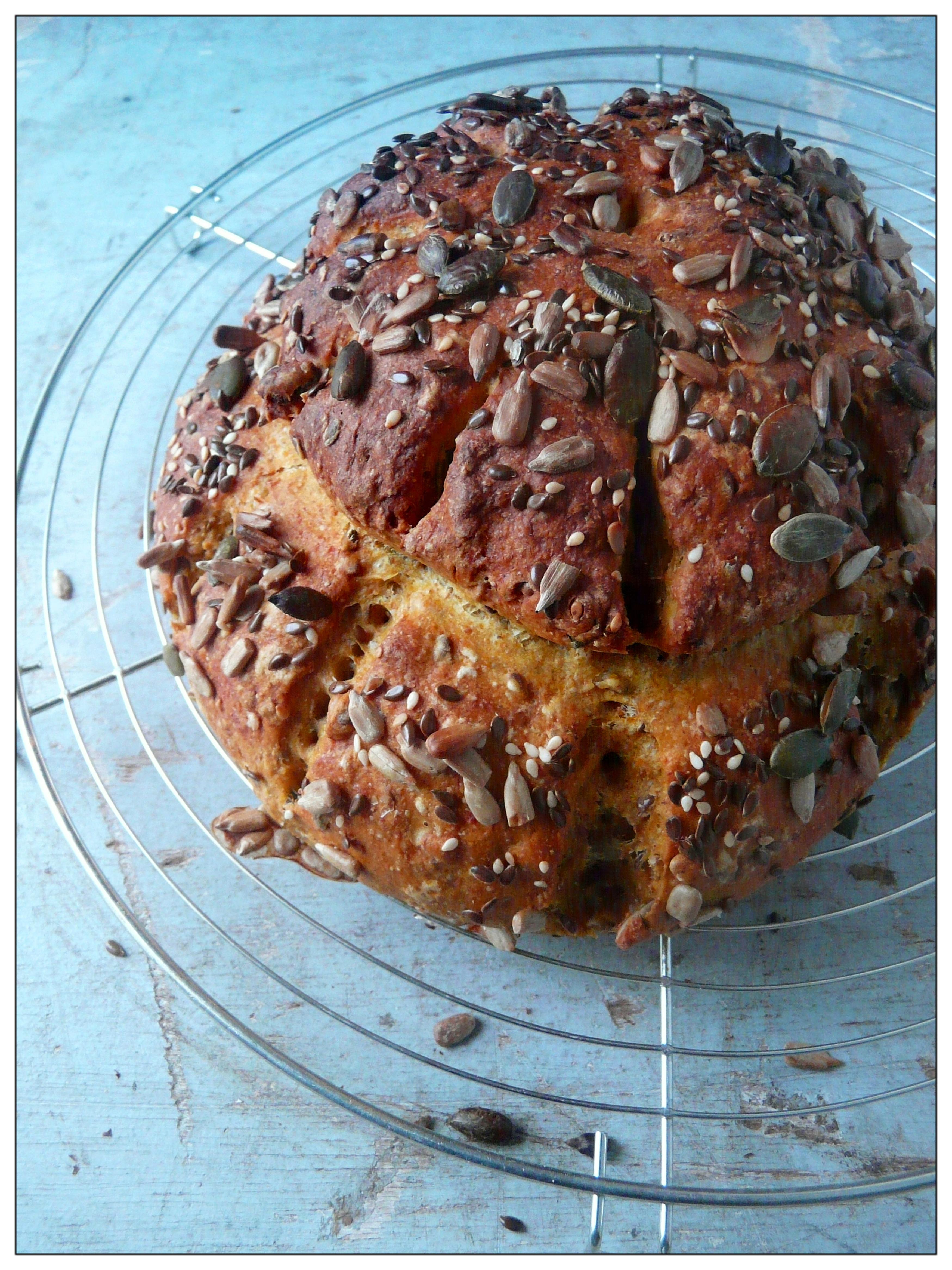 Seeded Butternut Squash Cottage Loaf In Vegetables We Trust