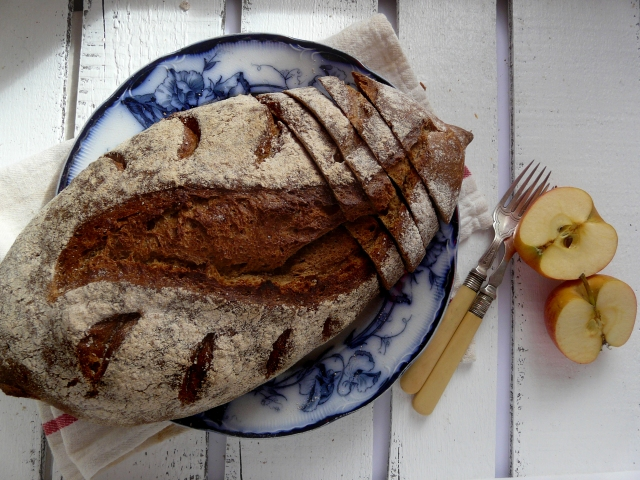 rye batard sourdough vegan