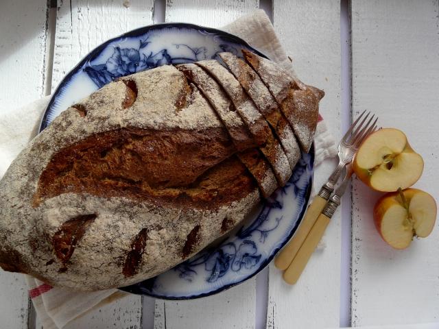 rye batard sourdough vegan